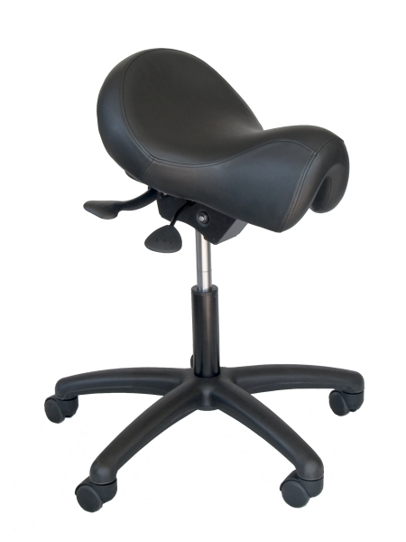 click to enlarge image - Saddle Chair